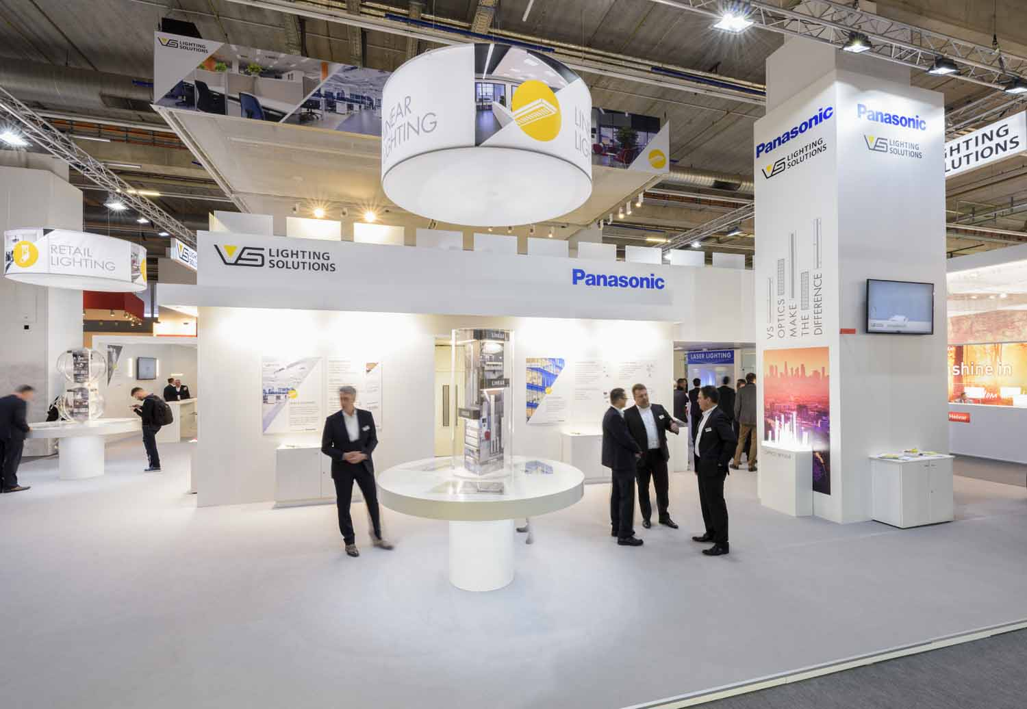 Exhibition Stand Lighting Near Me : Numerous exhibition construction projects at light