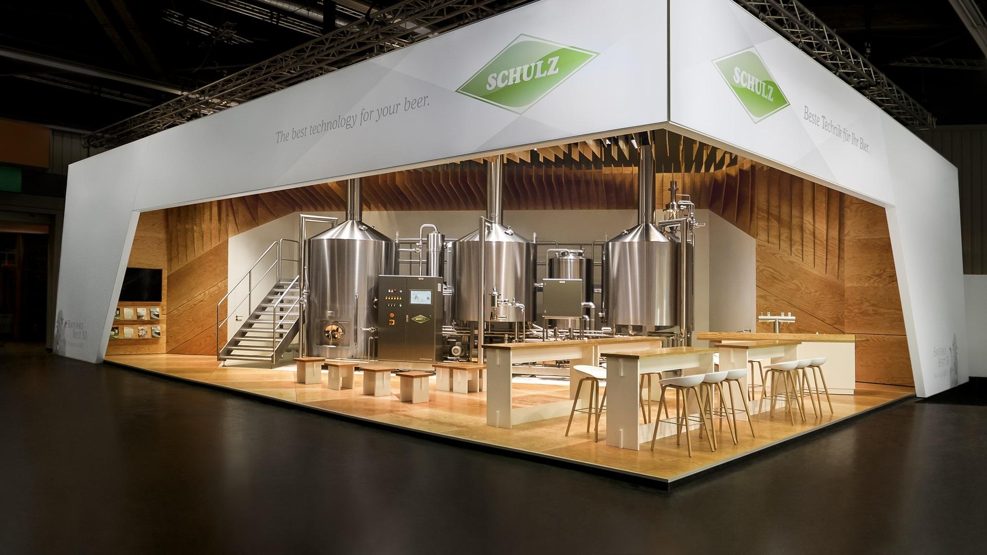 exhibition stands fair stand design international messe pro en. Black Bedroom Furniture Sets. Home Design Ideas